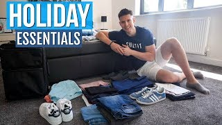 How To Pack For A City Break | HOLIDAY ESSENTIALS MEN