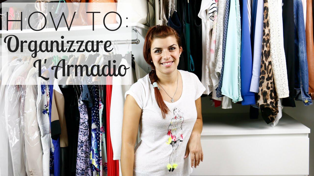 How to: Organizzare L'Armadio  NurseLinda87 - YouTube