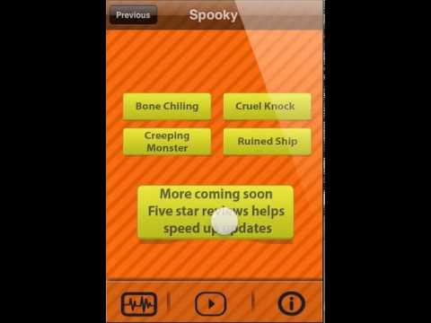 creepy sounds halloween soundboard app for ios youtube