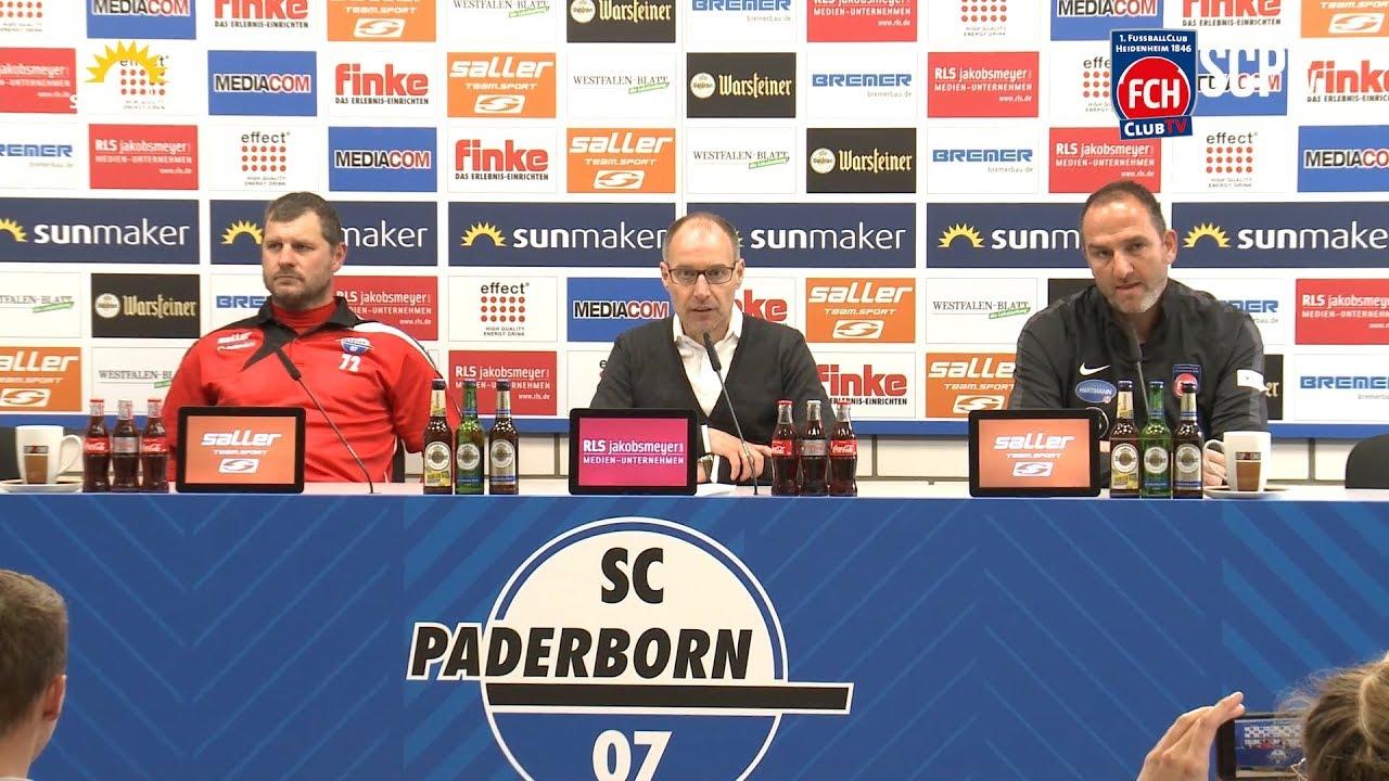 Pressekonferenz Sc Paderborn