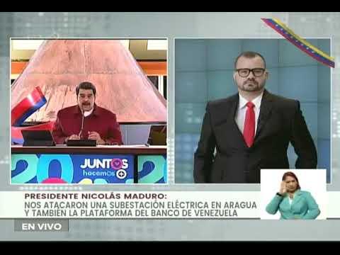 Maduro sobre el Banco de Venezuela: Hay un ataque a servicios públicos planeado desde Colombia