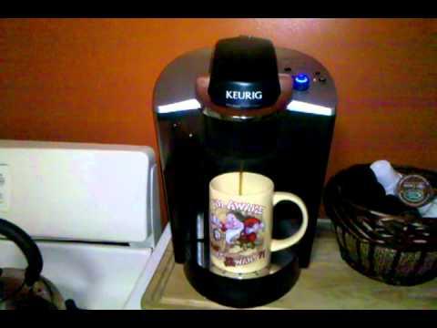 Coffee Maker Demonstrations : Keurig B140 Commercial Coffee Maker. DEMO - YouTube