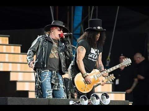 Guns N' Roses - Welcome To The Jungle   Ottawa 2017