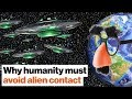 Why Michio Kaku wants to avoid alien con