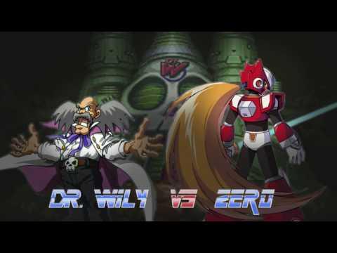 Dr. Wily Stage + Zero