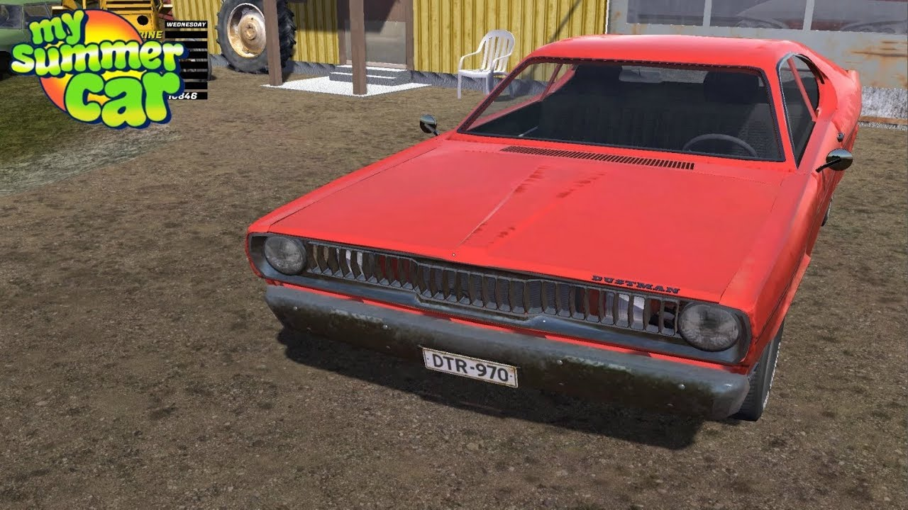 my summer car - the new dustman car update - youtube