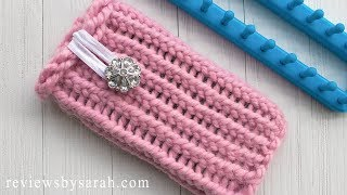 How to Make a Cell Phone Case by Loom Knitting - Knit Cases for iPhone Samsung or Android