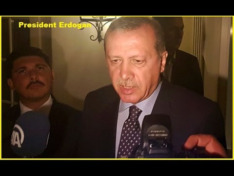 Turkey News- Turkish President Erdogan Appears in Istanbul to denounce Army coup attempt