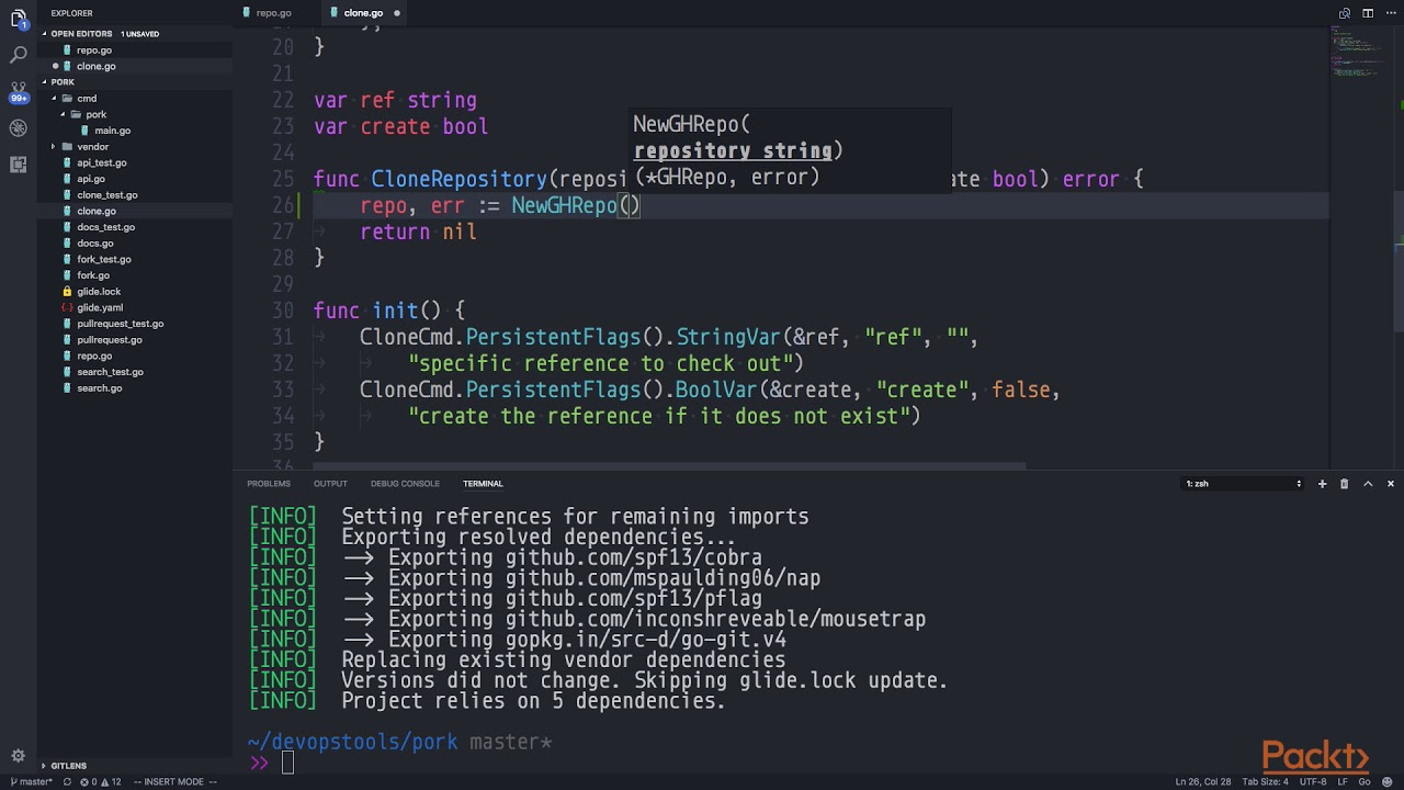 Go : Building DevOps Tools: Designing the API | packtpub com