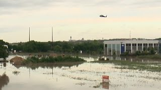 National Guard helicopter rescues flood victims