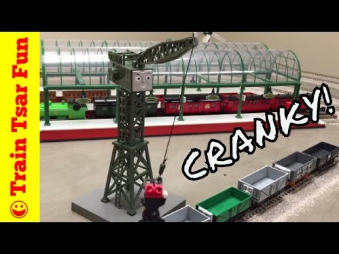 CRANKY THE CRANE Bachmann Trains HO Scale THOMAS & FRIENDS with BILL
