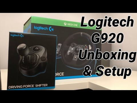 Logitech G920 Unboxing & Setup