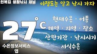 수온 27° 어서와 나만믿고따라와 인복김 생활낚시 낚시…