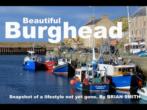 BURGHEAD Harbour  - One of Scotland's secret little treasures.