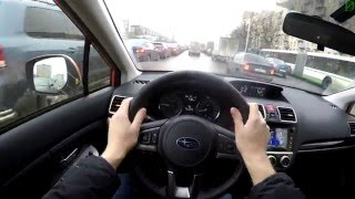 Subaru XV - движение с комментариями (4k, UHD)