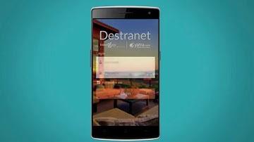 DESTranet app tutorial video