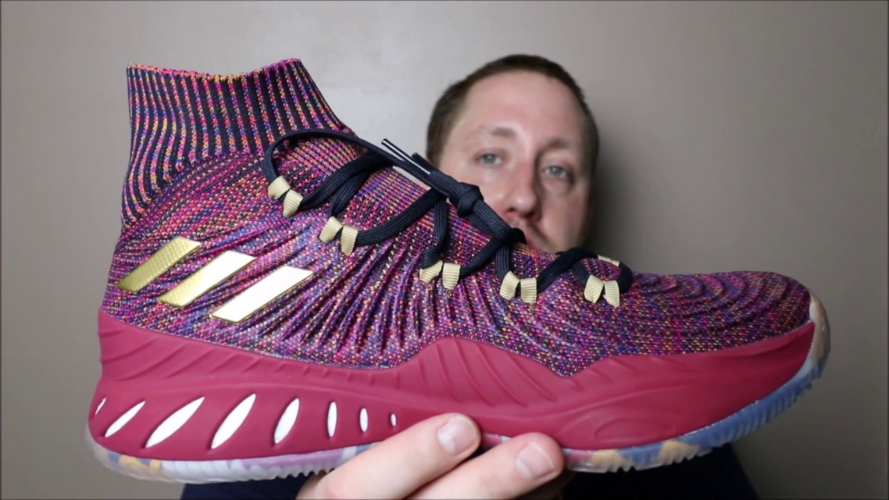 df4b443b1d7d Adidas SM CRAZY EXPLOSIVE PK Vegas on feet!!!!!! JordanNike are
