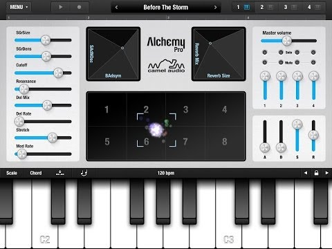 Alchemy Mobile for iPad, Demo of the Iceland Soundpack