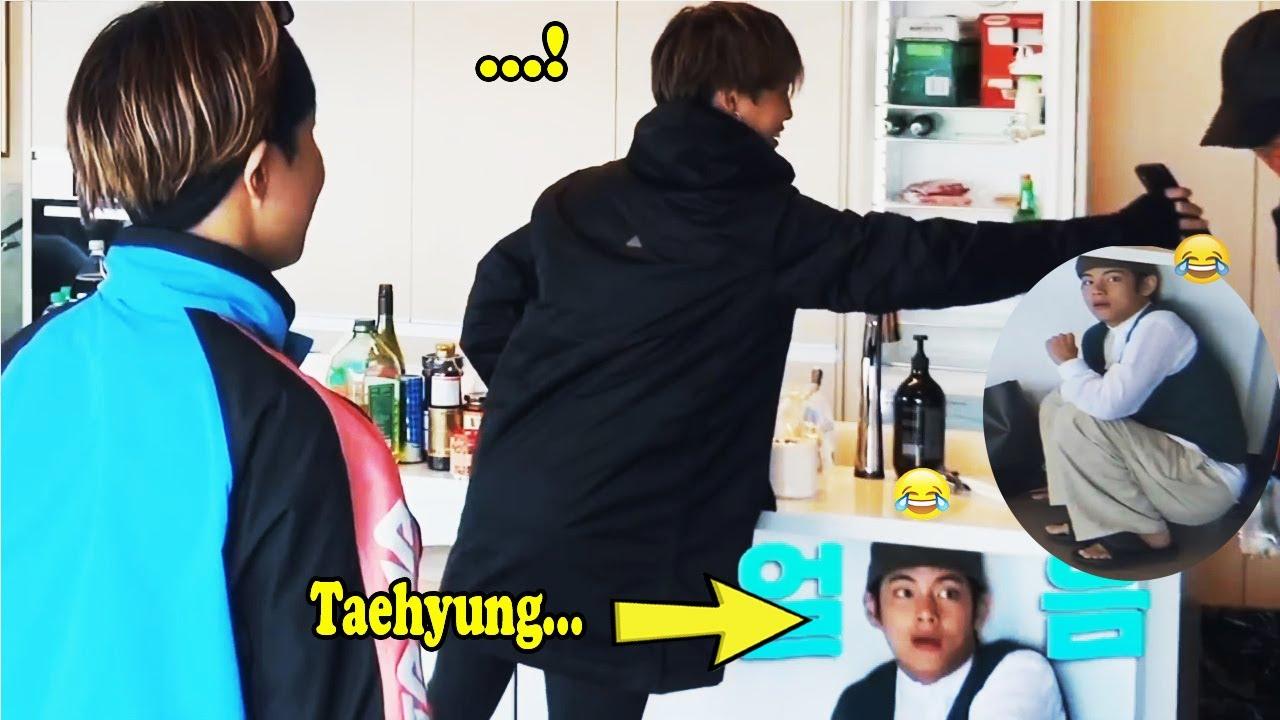 BTS V Being Naughty Baby Bear