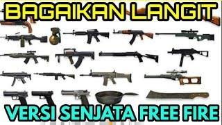 Bagaikan Langit - Potret - Versi Nama Senjata Free Fire | Cover Parody