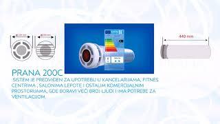 Rekuperator Prana 200 - ventilacija za upotrebu u kancelarijama, fitnes centrima , salonima lepote.(, 2017-12-04T14:47:07.000Z)