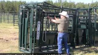 Hi-hog Cattle Squeeze Chute - Part 1 Of 2