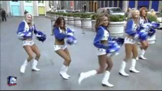 Dallas Cowboys Cheerleaders Power Squad Bod