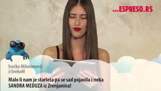 #EspresoTviter: Sandra Meduza čita tvitove o sebi