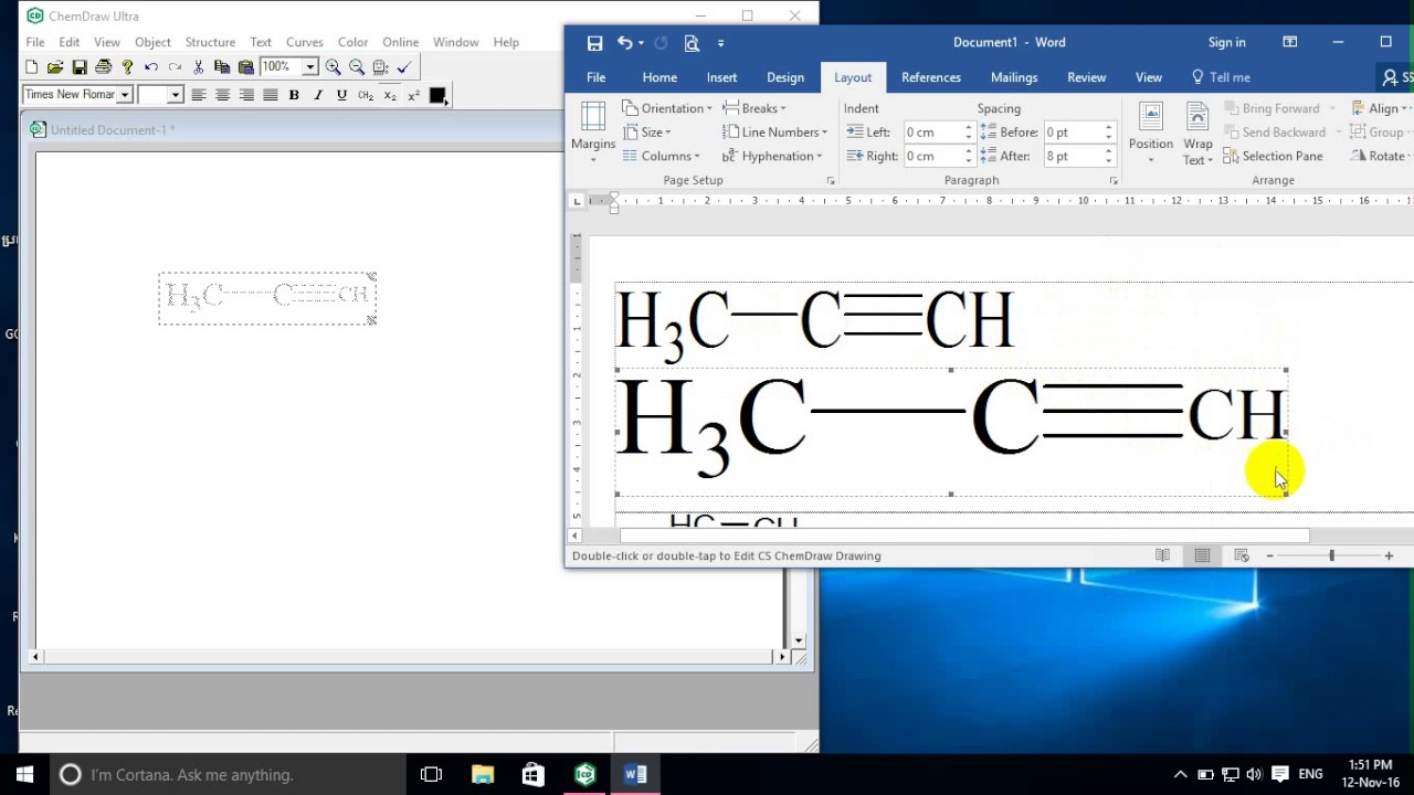ChemDraw tutorial | how to use ChemDraw | how to Draw Chemistry formula