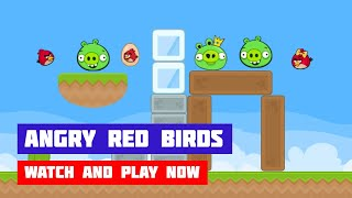 Angry Red Birds · Game · Gameplay