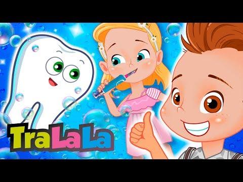 Dințișorii Veseli - Cântece Pentru Copii | TraLaLa