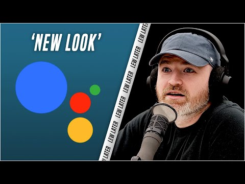 Google Assistant Gets a NEW LOOK...