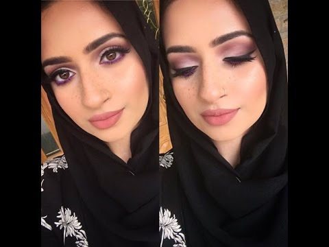 drugstore-makeup-+-how-i-style-my-hijab|-collab-with-omehabiba-khan