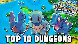 Top 10 Dungeons - Pokémon Mystery Dungeon: Blue and Red Rescue Team