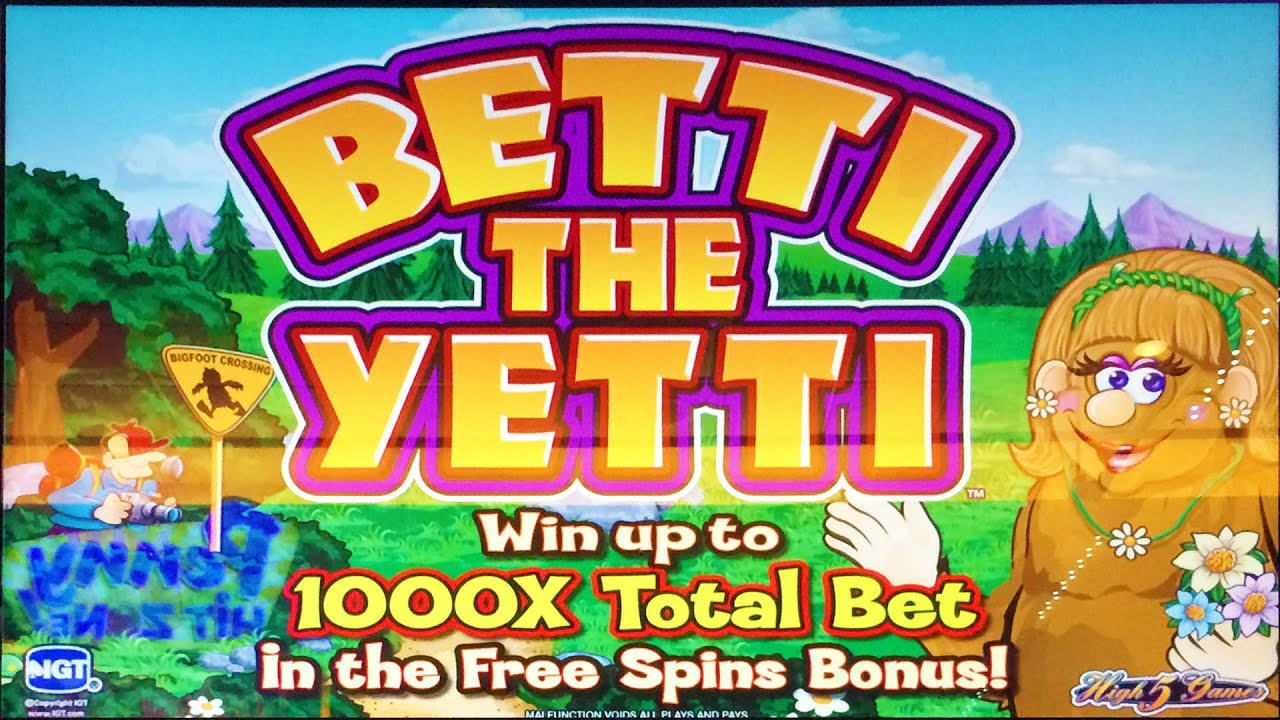 Betti the yetti slot machine internet casino deutschland legal