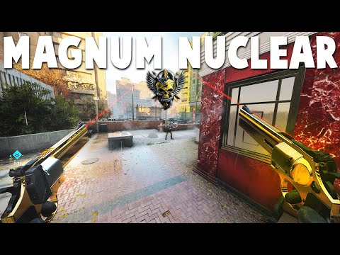 Treyarch BUFFED the MAGNUM & i dropped a NUCLEAR.. (BLACK OPS COLD WAR NUCLEAR)
