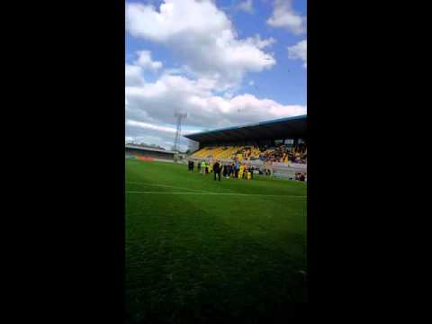 Torquay united and fans say well done Kevin