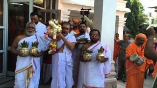 Bhū Samādhi of Pūjya Swāmiji: Swami Dayananda Saraswati