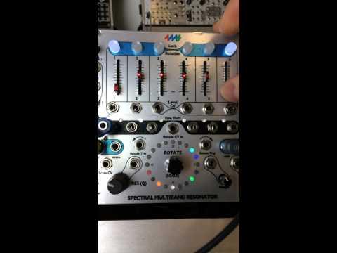 Spectral Multiband Resonator - filtering music
