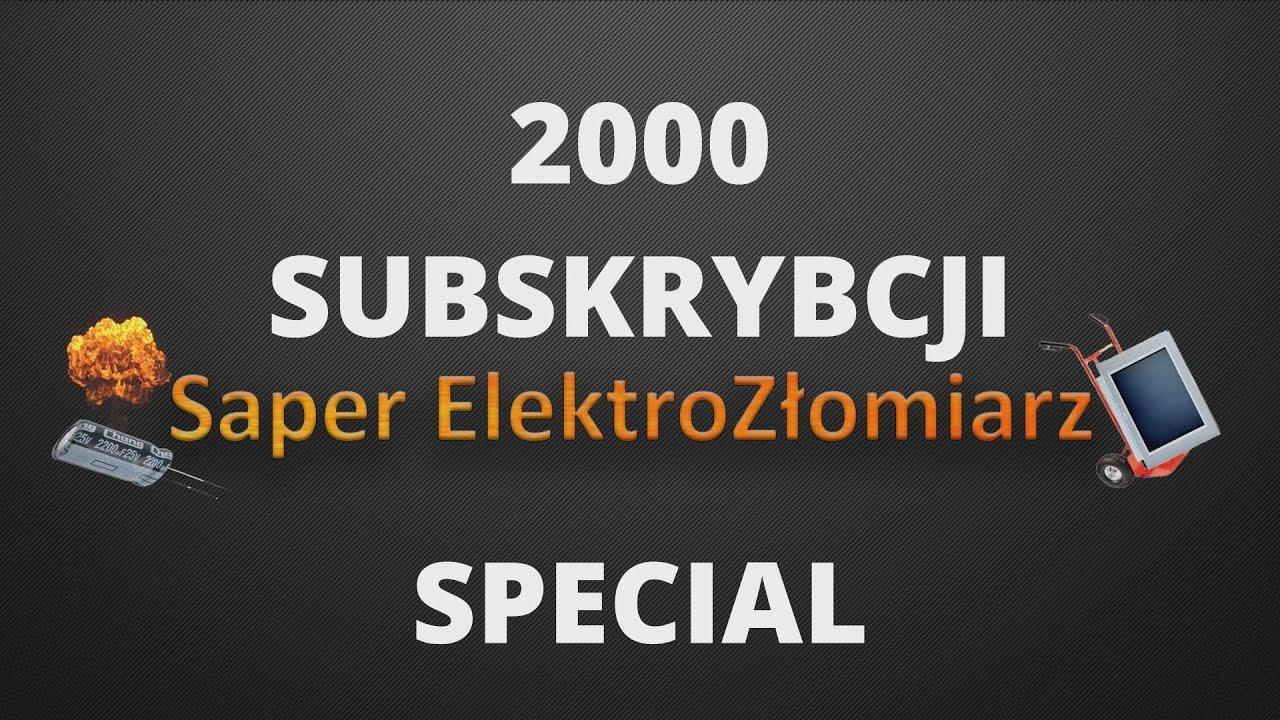 FUNNY MOMENTS koloryzowane - 2000 SUBSKRYBCJI SPECIAL. Saper ElektroZłomiarz