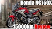 Honda Nc750x Dct Test Ride Moto In Action Youtube