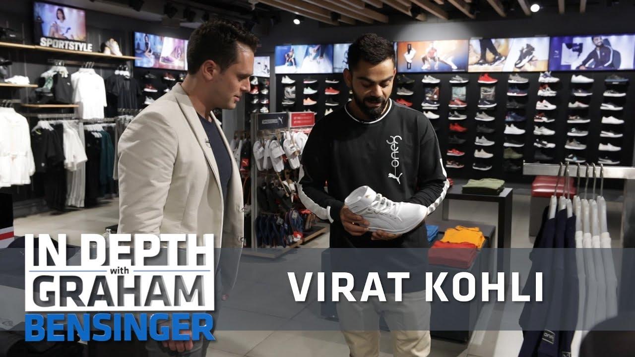 Virat Kohli My Personal Puma Collection Studio Tour