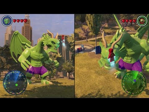 Lego Marvel's Avengers Part 2 - The Co-op Mode