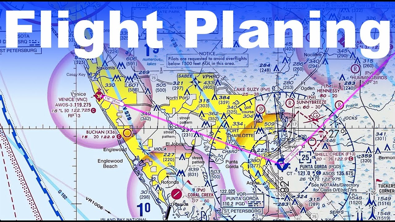 Ep  109: Planning a Flight on a VFR Sectional | How TO
