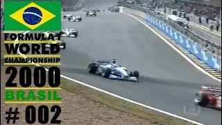 🔴 Fórmula 1  2000     GP do Brasil - #02