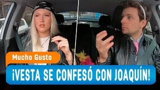 Vesta Lugg se confesó con Joaquín Méndez en un loco viaje - Mucho Gusto 2019