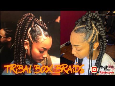 Grownish   Large Tribal Box Braids
