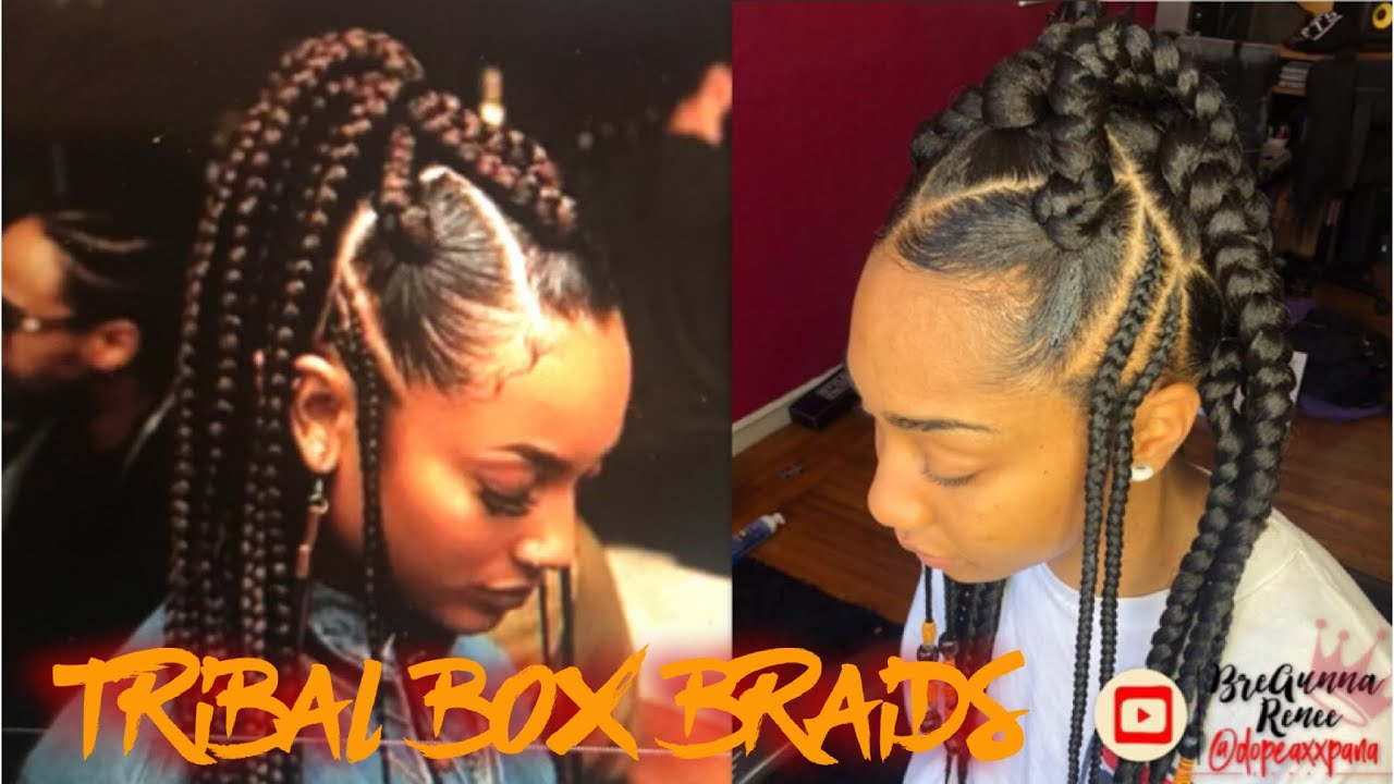 Grownish | Large Tribal Box Braids - YouTube