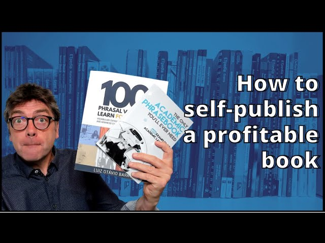 How to self-publish a profitable book