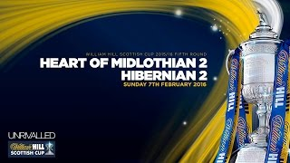 Heart of Midlothian 2-2 Hibernian | William Hill Scottish Cup 2015/16 - Round 5 thumbnail